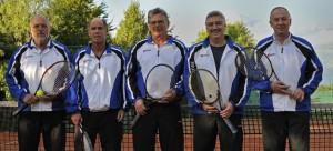 Erfolgreiches Tennis-Team: Herren 50 erringen Meisterschaft in Kreisliga A