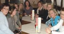Wellnesswochende in Nordhessen: Stepaerobic-Damen ließen es sich gutgehen