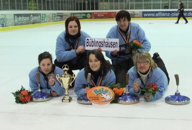 Eisstock: Silber- und Bronzemedaillen auf der Deutschen Meisterschaft