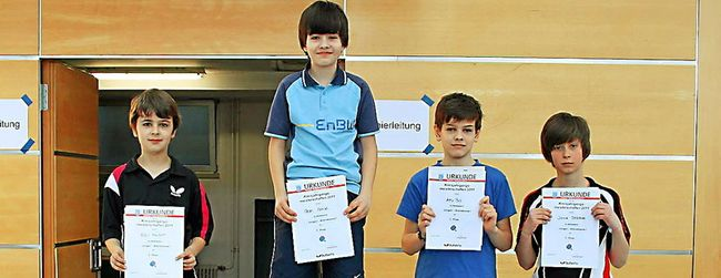 Tischtennis-Kreismeisterschaften der Jugend: RSV-Akteure holen zwei Titel