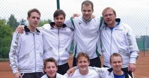 Tennis-Herren feiern Meisterschaft und Aufstieg