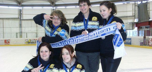 RSV-Eisstock-Damen sind Vize-Europapokalsieger