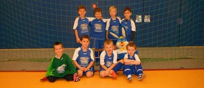 Hallenturniere der Fußball-Jugend in Biskirchen: F-Jugend holt sich den Titel