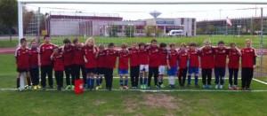 RSV-Nachwuchs zu Gast in Bayer-Fußballschule