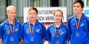 Eisstock-Jugend: Nur Gold fehlt