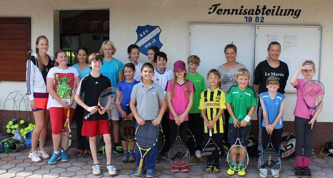 1. RSV-Tennis-Camp: Drei Tage Spaß mit gelber Filzkugel