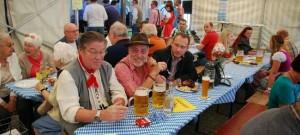 2. Büblingshäuser Oktoberfest: Zahlreiche Besucher feiern ausgelassen