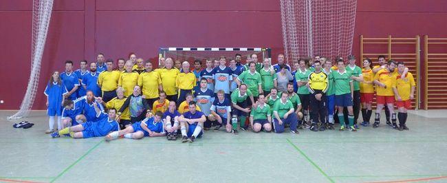 RSV-Fußball-ID feiert Turniersieg in der Halle