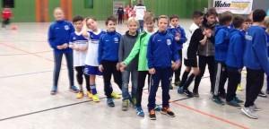 E-Junioren auf Platz 3 beim top-besetzten Turnier der TSG Wieseck
