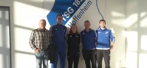 Den Profis über die Schulter geschaut: RSV-Trainer zu Gast in Hoffenheim