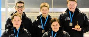 Eisstock-EM: Florian Kozlowski ist Vize-Europameister!