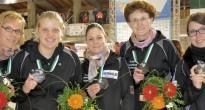 Eisstock-WM: Rebecca Jüngel holt Bronze mit Deutschland