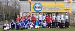 Der reine Spaß am Spiel: G-Junioren feierten Osterspielfest in Büblingshausen