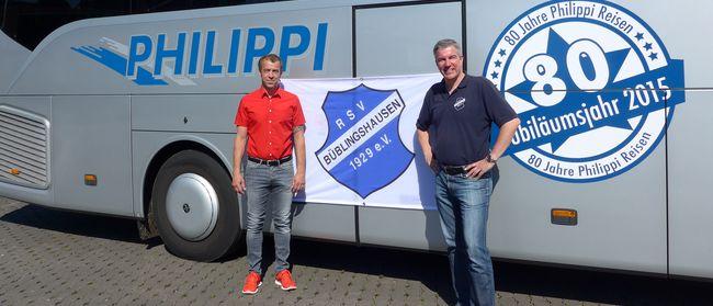 ID-Fußballer des RSV und Philippi-Reisen geben Kooperation bekannt