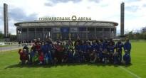 E-Junioren zu Gast in Frankfurt