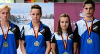Eisstock: Zweimal RSV-Bronze bei der Deutschen Jugendmeisterschaft