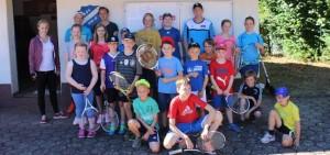 RSV-Tenniscamp erfreute sich wieder großer Beliebtheit
