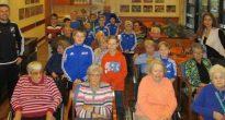 Generationen treffen sich: RSV-Kids besuchen das Alloheim Wetzlar