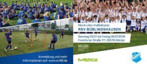 """""""Merck-Lilien-Camp"""" auch im Sommer 2018 wieder beim RSV"""