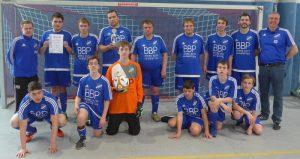 Teams der 1. Inklusiven Fußball-Liga testen in der Halle  – RSV überzeugt beim Sporthotel-Grünberg-Cup