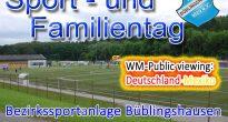 Sport- und Familientag: Volles Programm am Sonntag