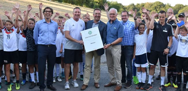 DFB-Stützpunkt Wetzlar-Büblingshausen feierlich eröffnet