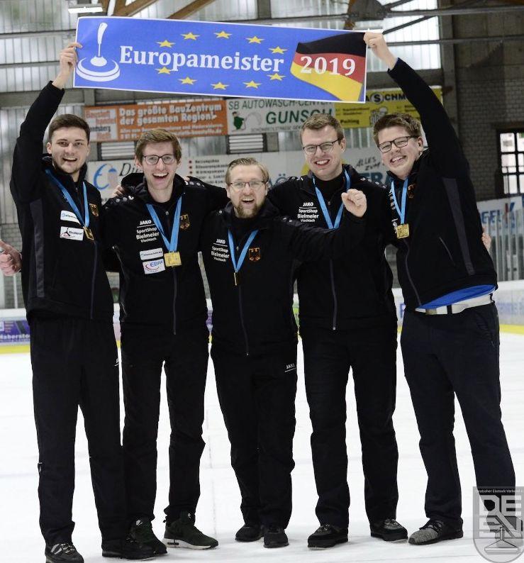 Marcel Porst ist Eisstock-Junioren-Europameister