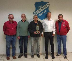 Tischtennis: Ralf Scheelen erneut Vereinsmeister