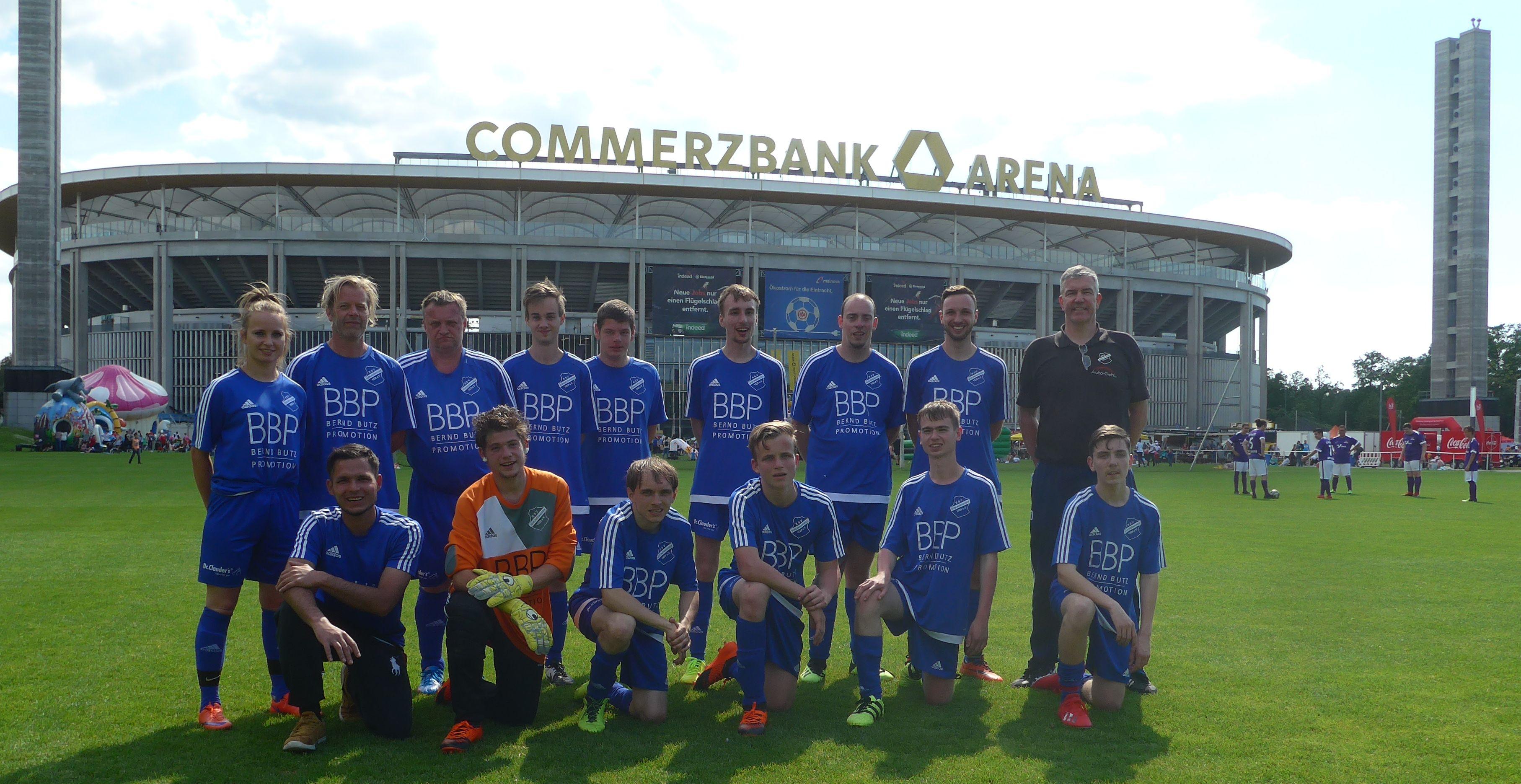 Inklusions-Fußball: RSV bestätigt Platz 5 in Frankfurt und fiebert Turnier beim Hessentag entgegen
