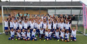 Lilien-Fußball-Camp 2019: 50 Kinder kicken 4 Tage mit Riesenspaß beim RSV