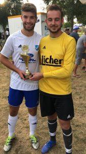 Tests am Sonntag: Erste Mannschaft verliert knapp in Braunfels – Zweite gewinnt Turnier von Blau Weiß