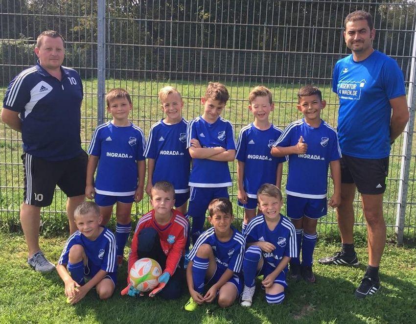 F-Jugend hält bei Turnier in Ahlen mit Bundesliga-Nachwuchs mit