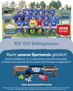 """Aktion """"Scheine für Vereine"""": Wir sind dabei! Deine Scheine für den RSV!"""