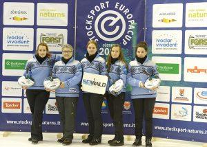 Eisstock-Europapokal: RSV-Damen in Südtirol auf Platz 4