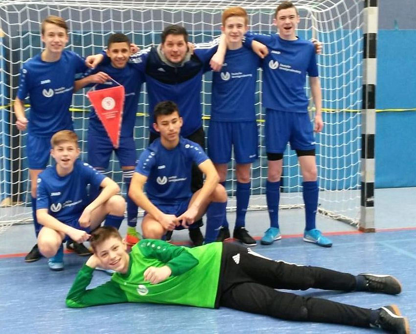 C- und D-Jugend bei Futsal-Regionalmeisterschaften
