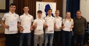"""An der Goetheschule: Sechs RSV-Jugendspieler erwerben """"DFB-Junior-Coach-Lizenz"""""""