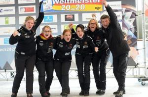 Rebecca Jüngel ist Eisstock-Weltmeisterin