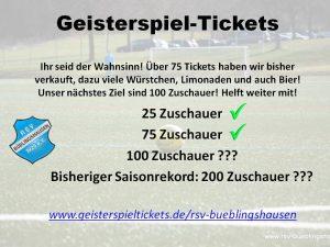 """Read more about the article """"Geisterspiel-Tickets"""": Unterstützt weiter den Fußball in Büblingshausen auch in der Corona-Zeit!"""