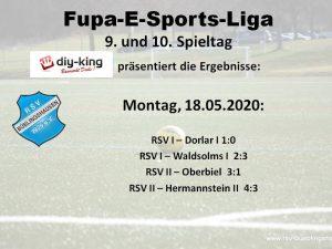FuPa Mittelhessen-E-Sports Liga: RSV II erstmals mit voller Punktausbeute – RSV I weiter in Spitzengruppe