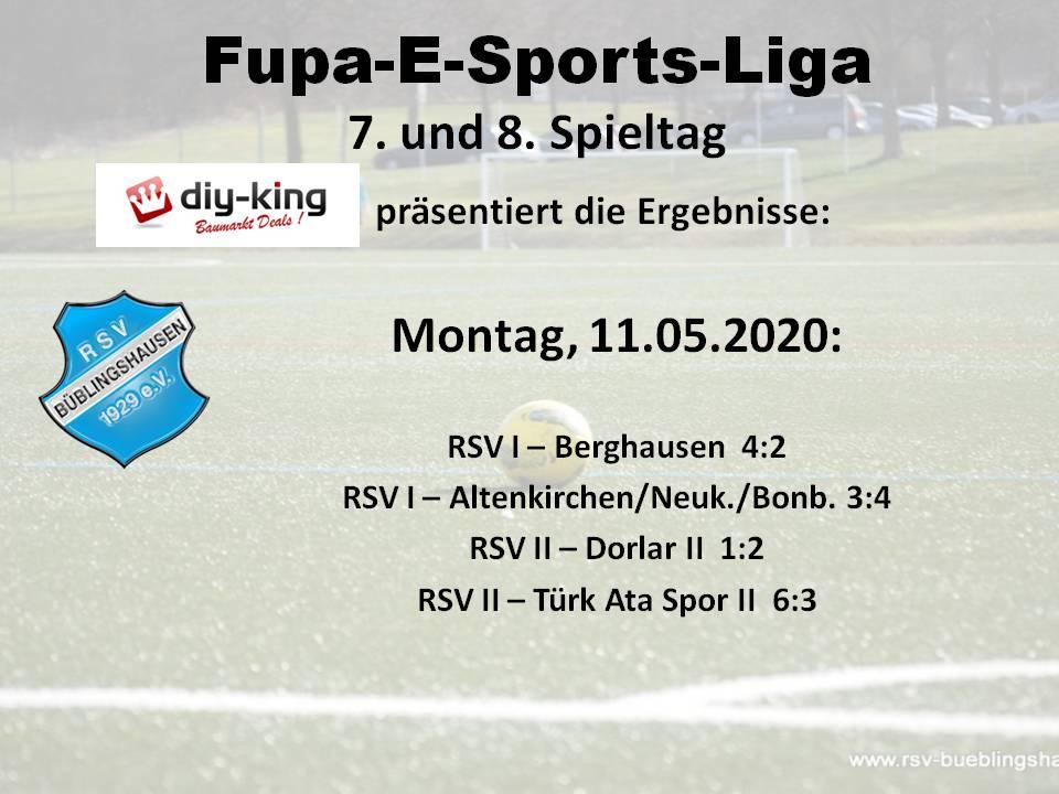 FuPa Mittelhessen E-Sports-Liga: RSV-Teams mit gemischten Ergebnissen