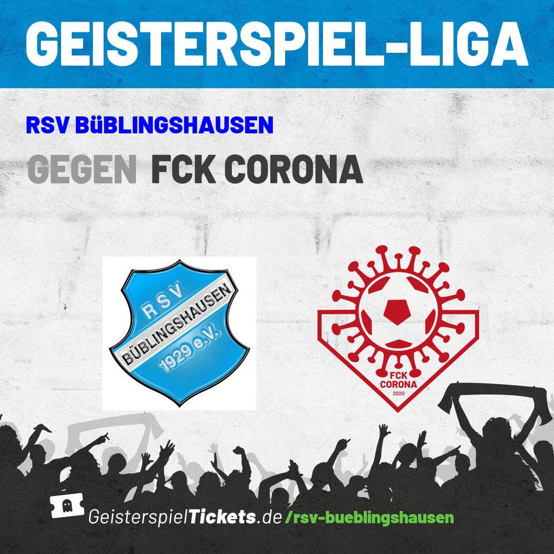 Die Bundesliga startet wieder – aber beim RSV ruht weiter der Ball: Unterstützt euren Verein mit Geisterspieltickets!