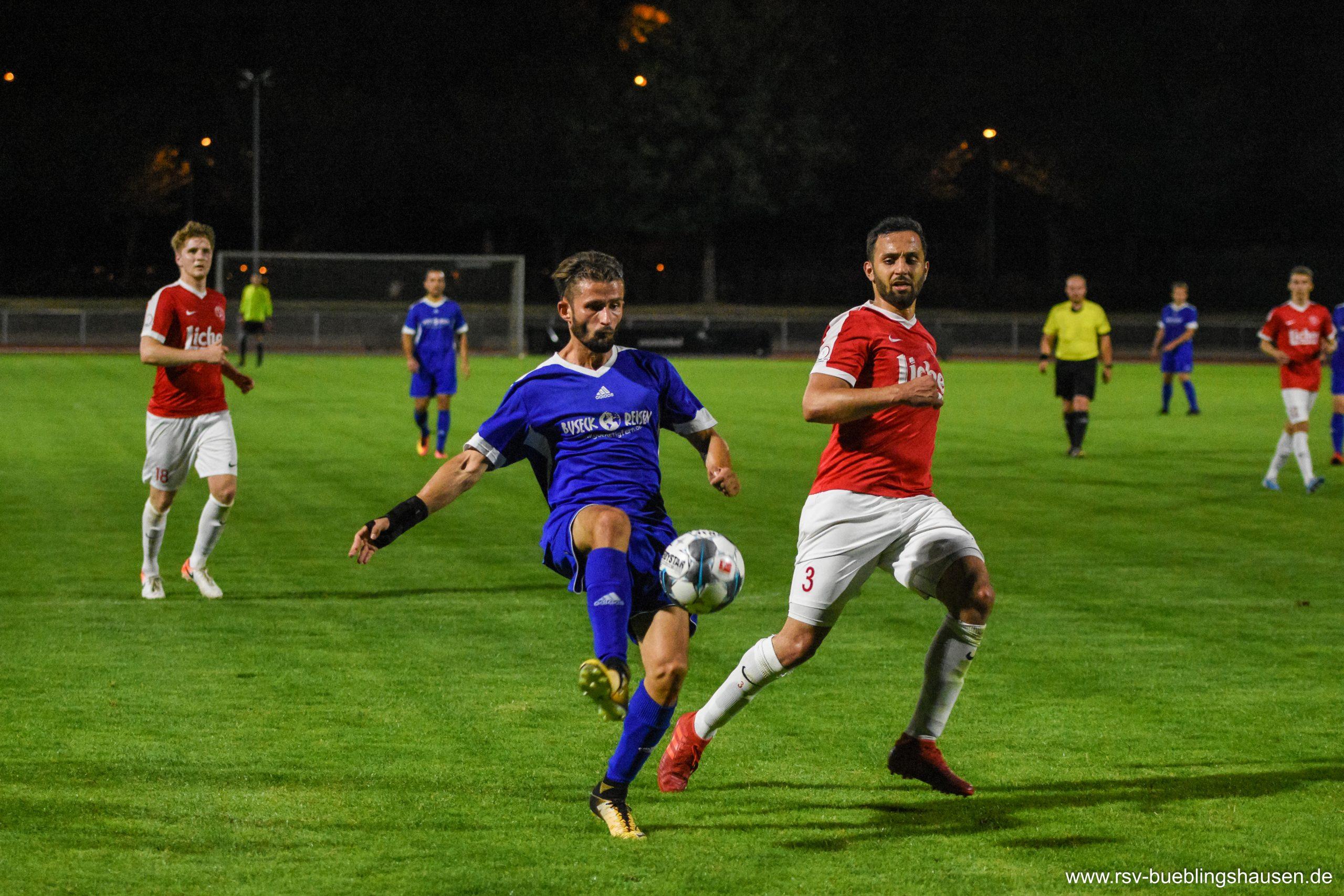 Testspiel gegen Kinzenbach: RSV wehrt sich nach Kräften