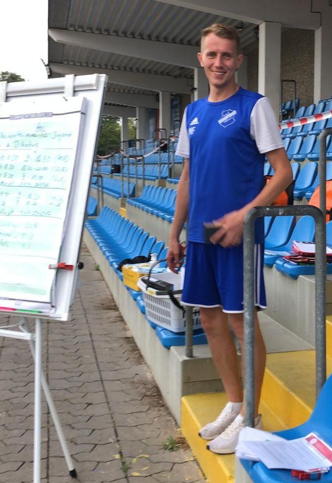 D-Jugend-Coach Matthias Feile auf dem Weg zur C-Lizenz