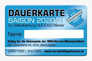 Endlich wieder Gruppenliga in Büblingshausen! Jetzt Dauerkarte sichern!