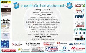 Jugendfußball am Wochenende: Gruppenliga-Teams vor lösbaren Aufgaben