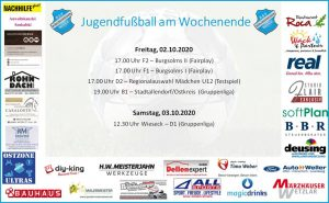 Jugendfußball am Wochenende: Gruppenliga-Teams mit schwierigen Aufgaben