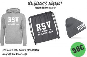 RSV-Shop mit brandaktuellem Weihnachtsangebot! Neue Styles und neue Farben im neuen Katalog!