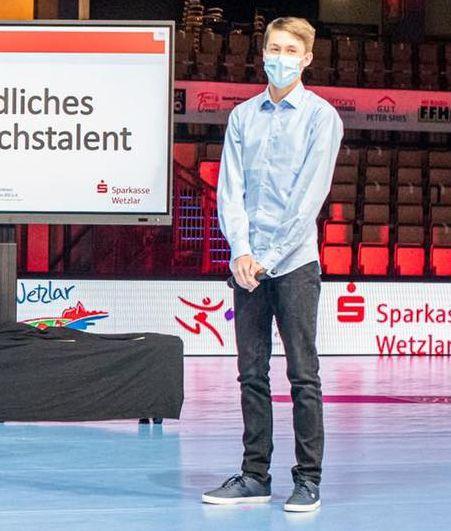 Außergewöhnliche Ehre für Nachwuchstalent Tom Stöber