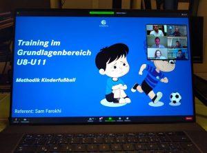 Read more about the article RSV-Trainer Gast bei Bundesliga-Online-Fortbildungen