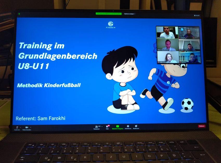 RSV-Trainer Gast bei Bundesliga-Online-Fortbildungen